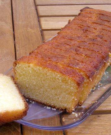 Cake mousseline au citron
