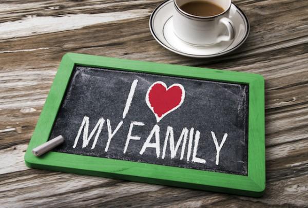 J'aime ma famille (c) bleakstar shutterstock