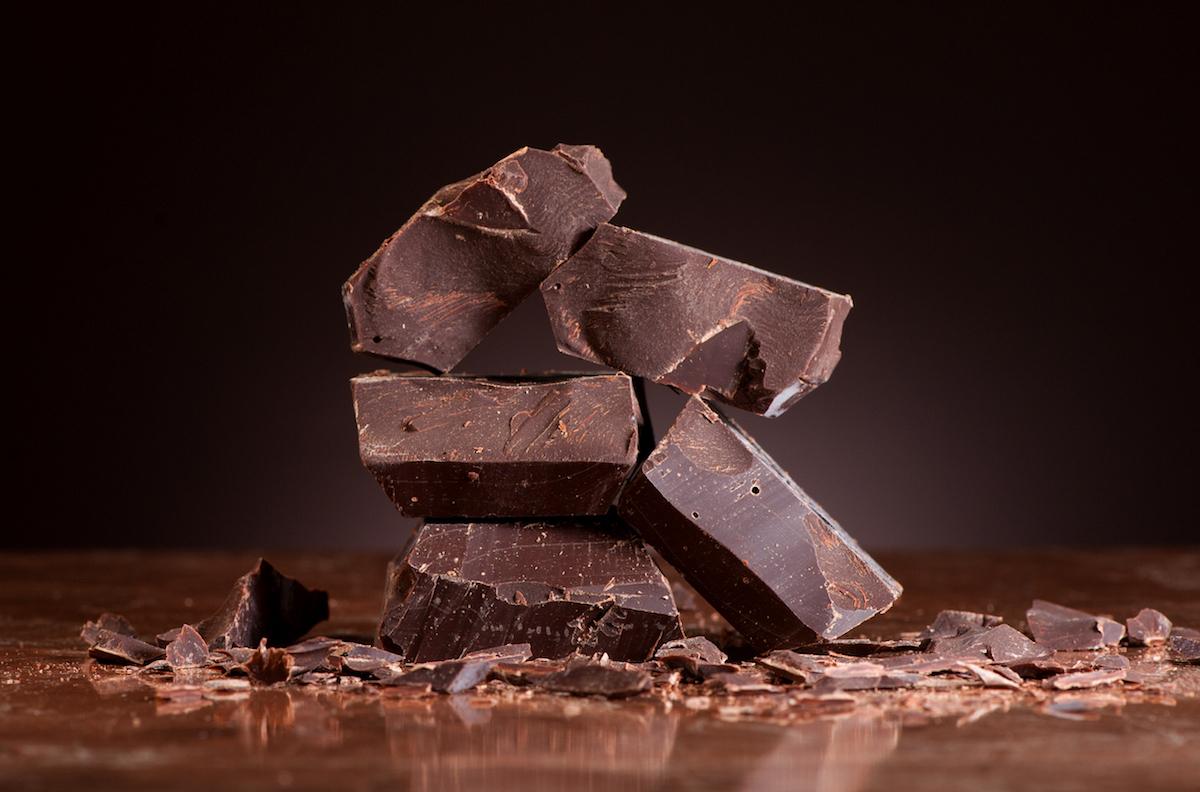 Chocolat noir © Marina Shanti shutterstock