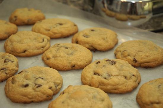 cookies aux p pites de chocolat et flocons d 39 avoine. Black Bedroom Furniture Sets. Home Design Ideas