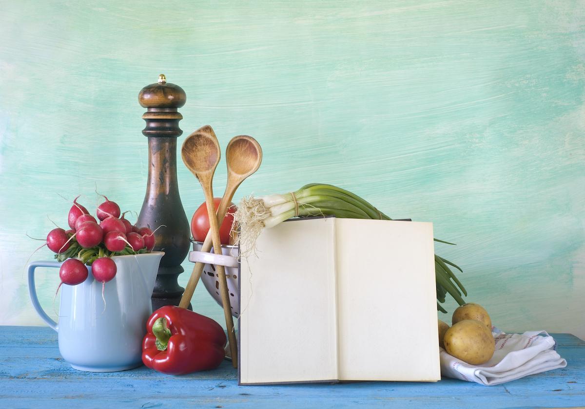 Livre de recette © Thomas Bethge Shutterstock