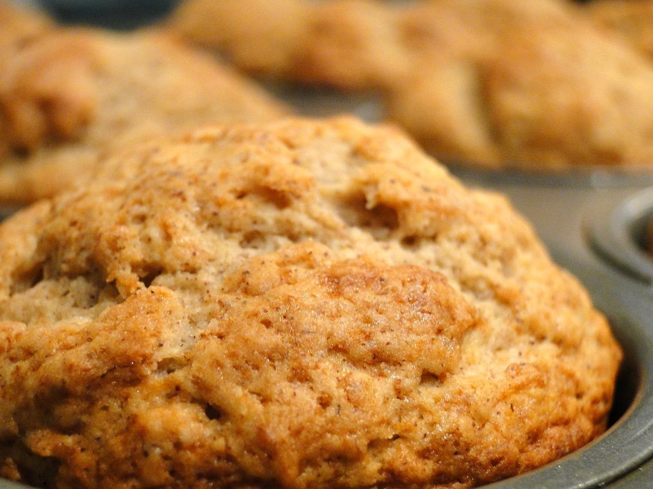 Muffins à la banane sans oeufs sans lait CC0 Pixabay (c) dustytoes