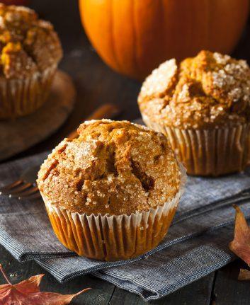 Muffins à la citrouille © Brent Hofacker shutterstock