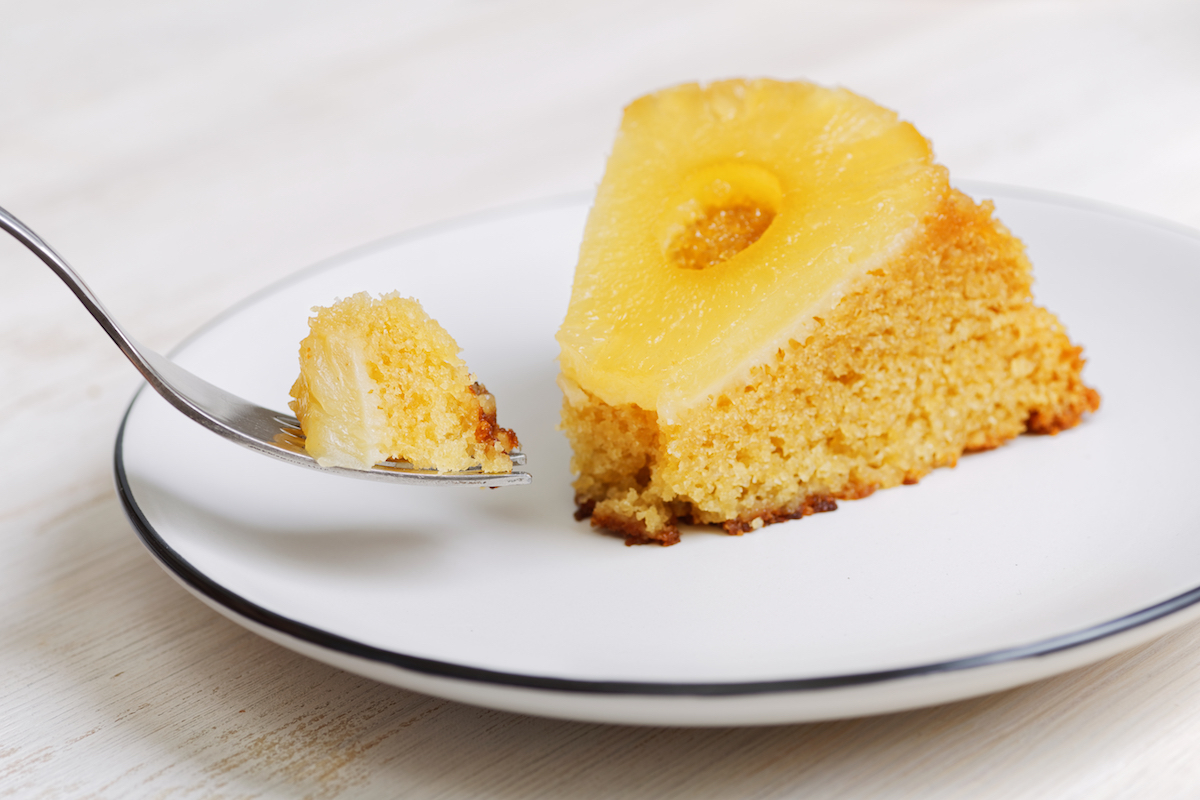 Gâteau renversé à l'ananas ©Mark_KA shutterstock