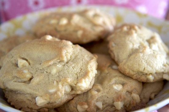 Cookies au chocolat blanc et aux noix de Macadamia
