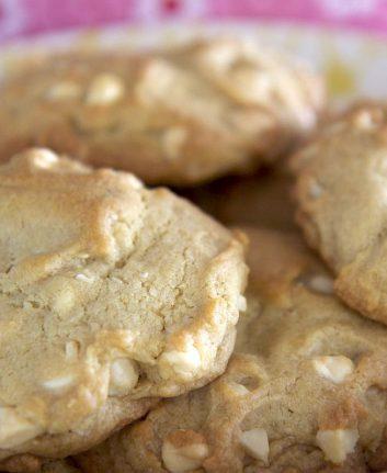 Cookies aux noix de macadamia