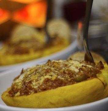 Courge spaghetti en sauce tomate (c) Christ-o-phile-Paternite - Pas-dutilisation-commercialePas-de-modification