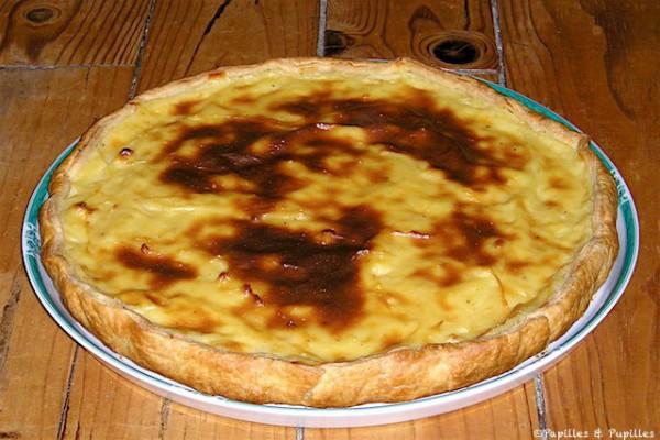 Flan pâtissier - Tarte au flan