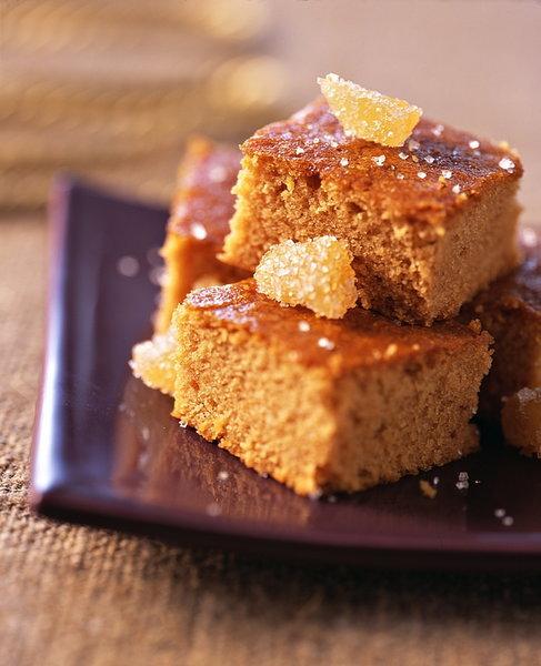 Gâteau au gingembre et au miel sans oeufs