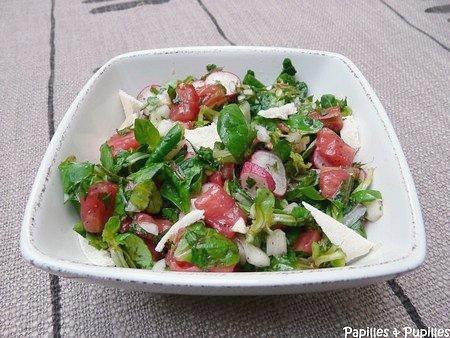 Salade Fattouch – Salade Fattouche