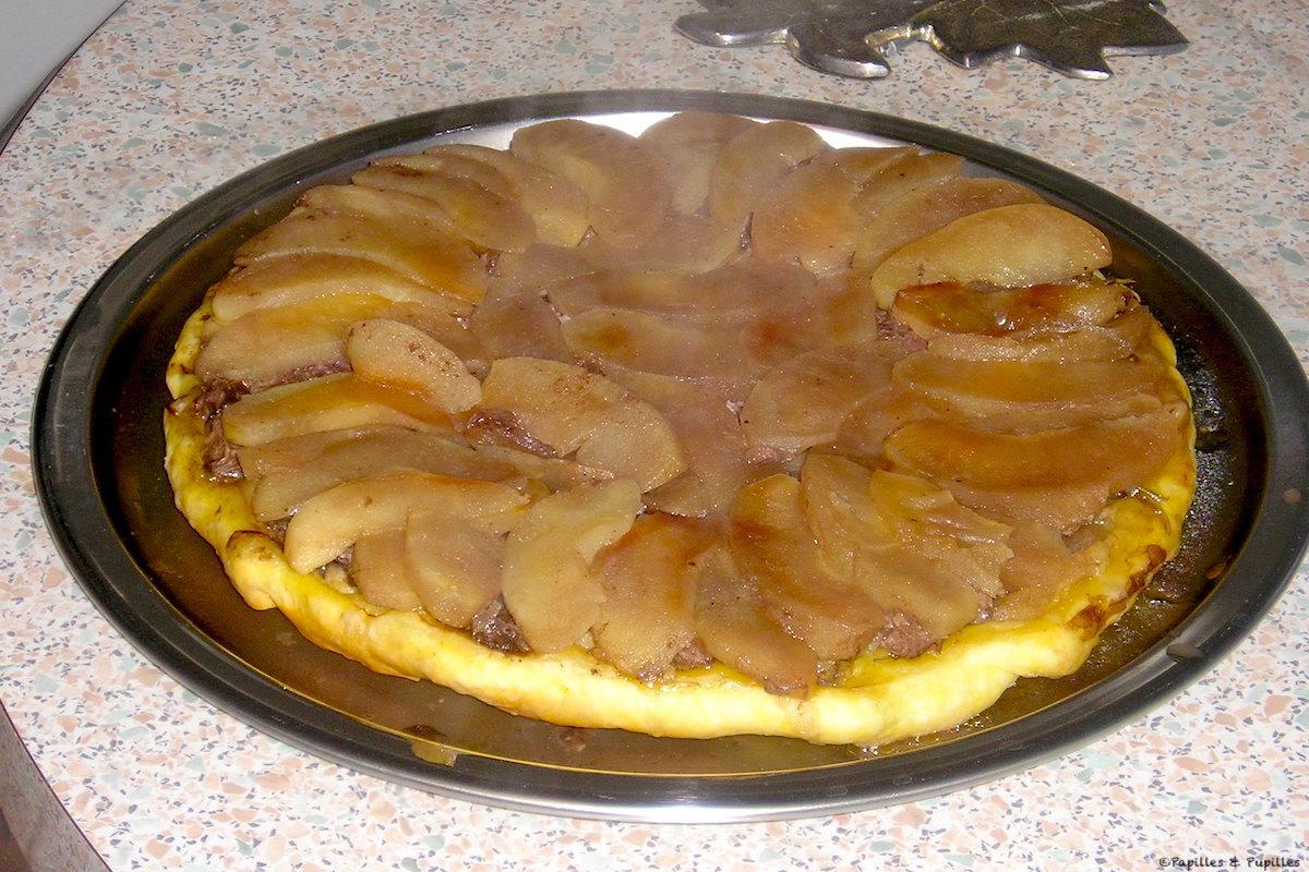 Tarte Tatin de magret aux pommes