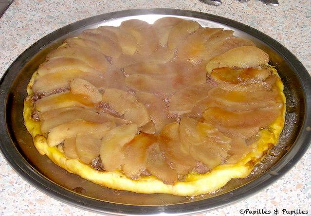 Tatin de magret aux pommes