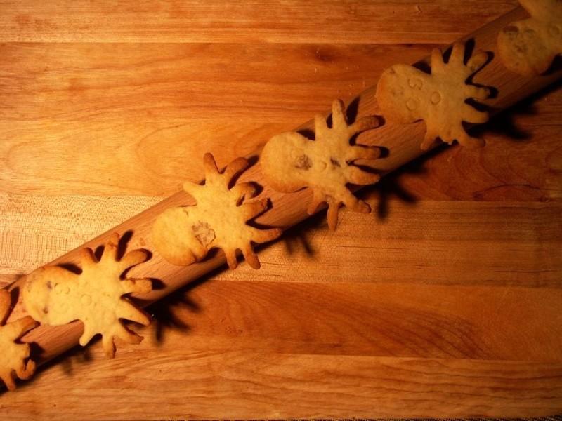 Biscuits au gingembre sans oeufs
