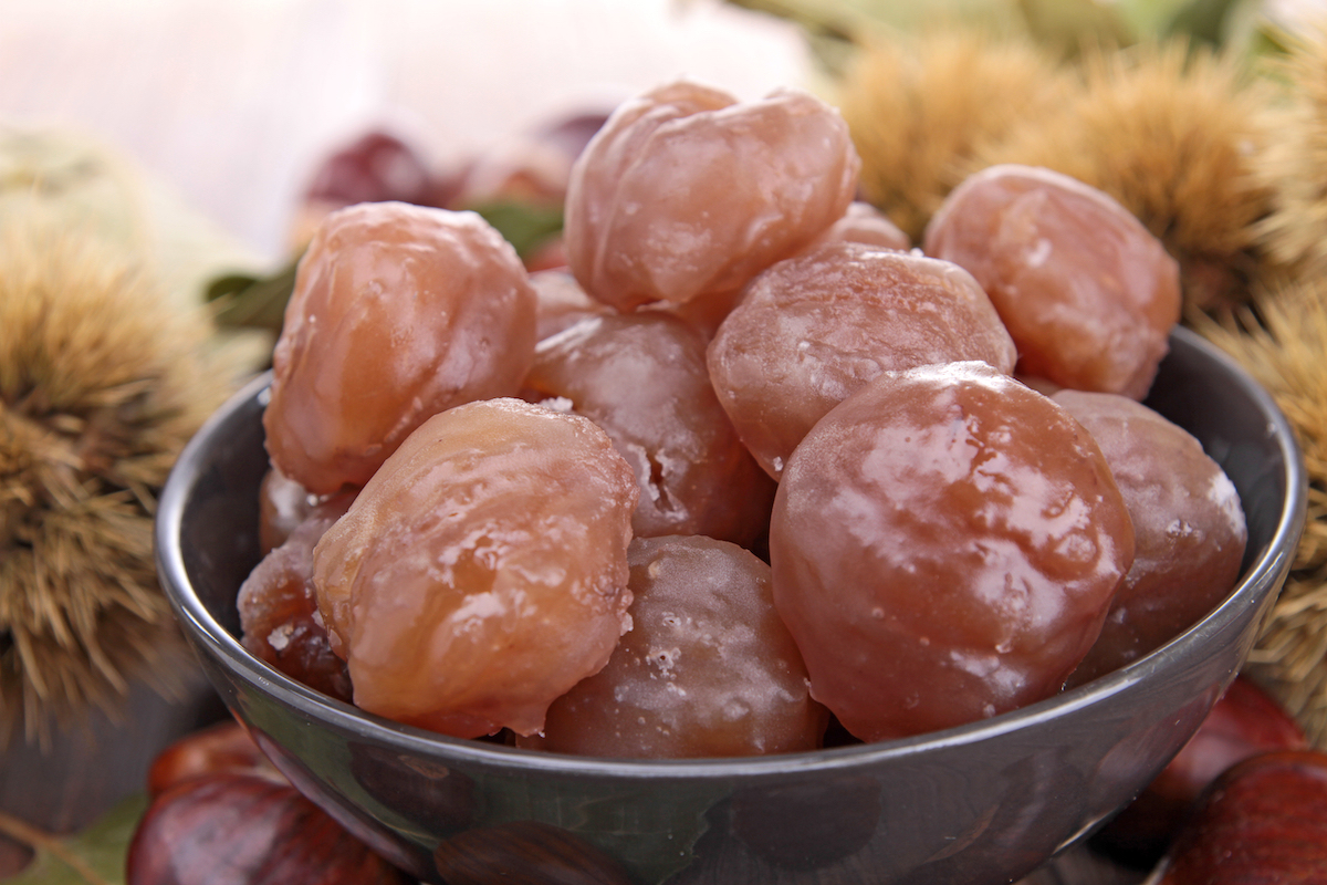 Marrons glacés ©margouillat photo shutterstock