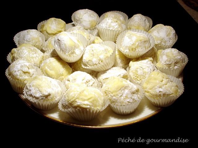Marzipan au citron