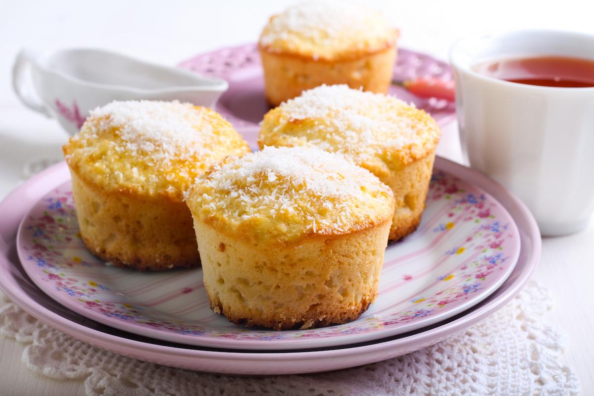 Muffins douceurs des tropiques ©MShev shutterstock
