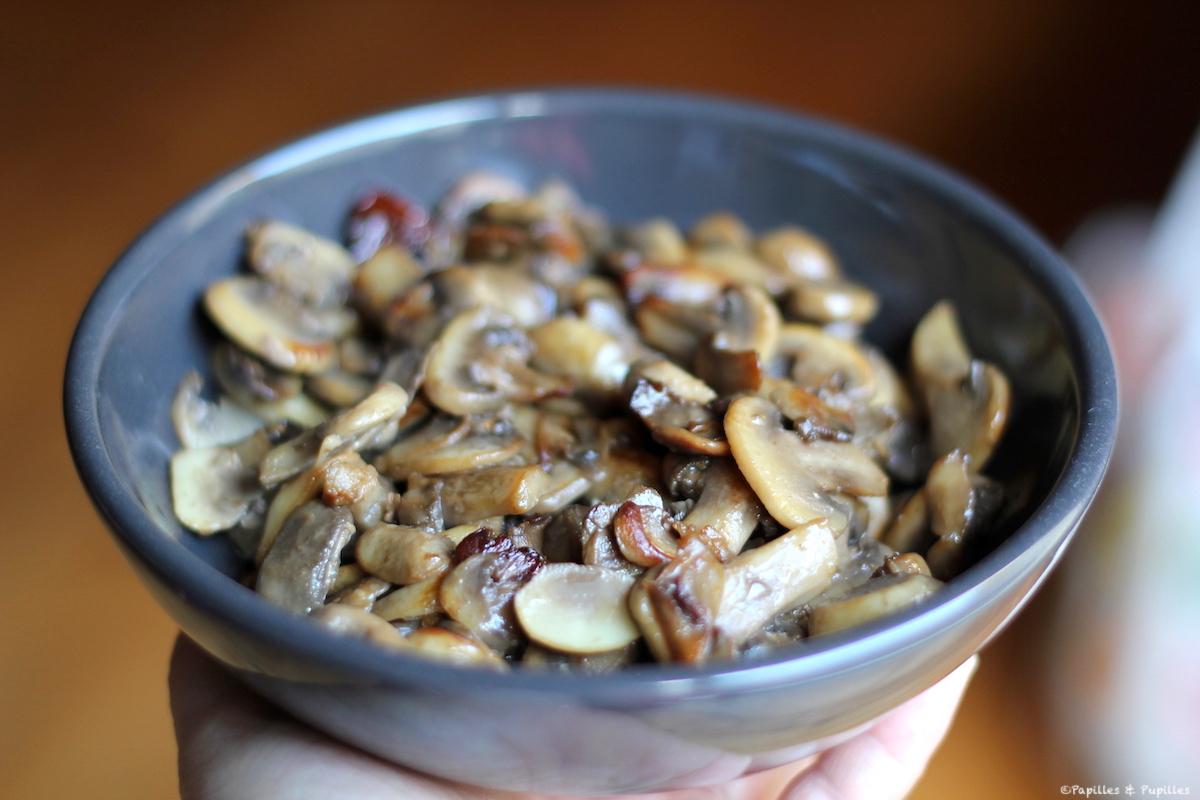 Poêlée de champignons de Paris