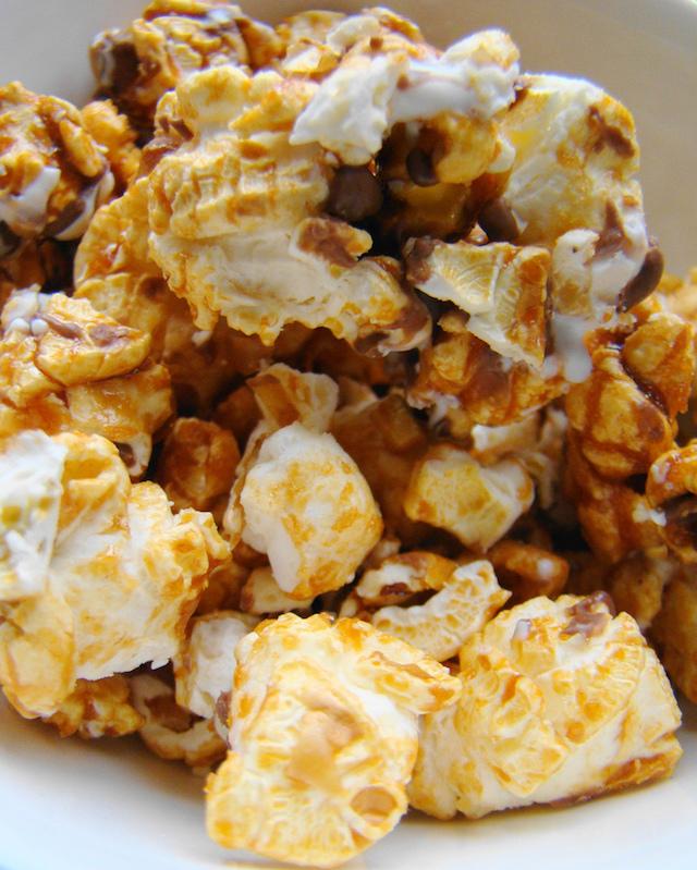 Popcorn au caramel (c) Janet Hudson CCBY20