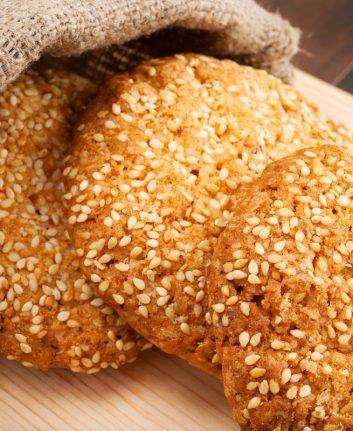 Cookies au sésame sans oeufs sans lait © Chamille White shutterstock