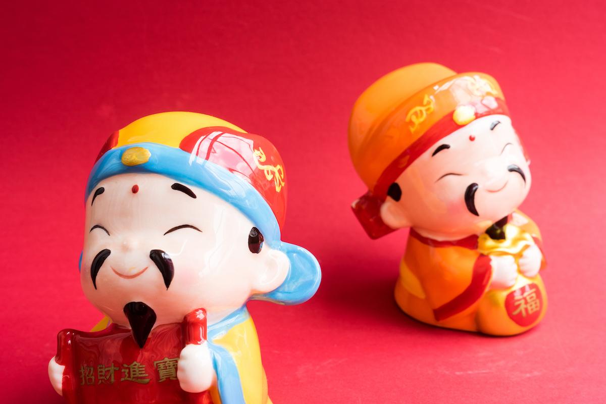 Figurines Dieux de la Prospérité ©N Azlin Sha shutterstock