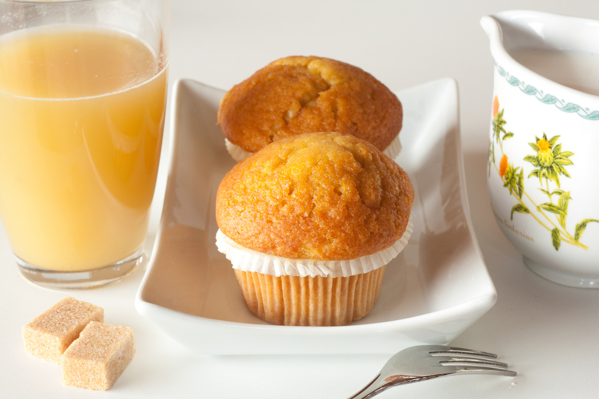 Muffins au miel et à l'orange ©Minerva Studio