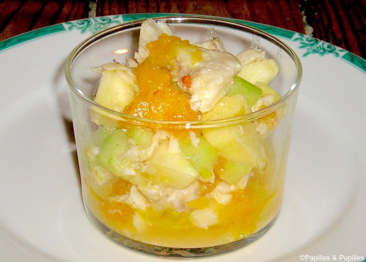 Salade récup restes de poisson
