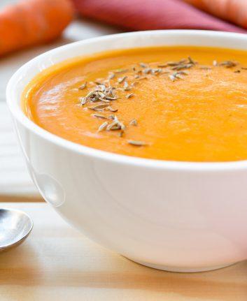 Soupe de carottes au carvi ©Iryna_Kolesova
