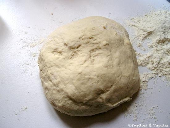 Dégazez la pâte