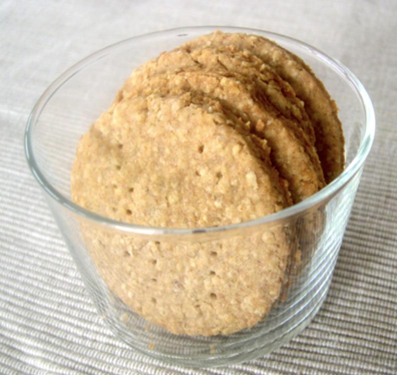 Digestive biscuits sans oeufs possible sans lait