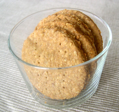 Digestive biscuits sans oeufs