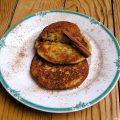 Pancakes aux pommes râpées et à la cannelle