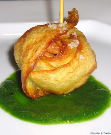 Pommes de terre croustillantes à l'ail et au persil