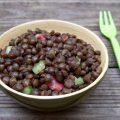 Salade de lentilles au magret séché et Verjus du Périgord