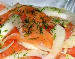 Salade terre mer