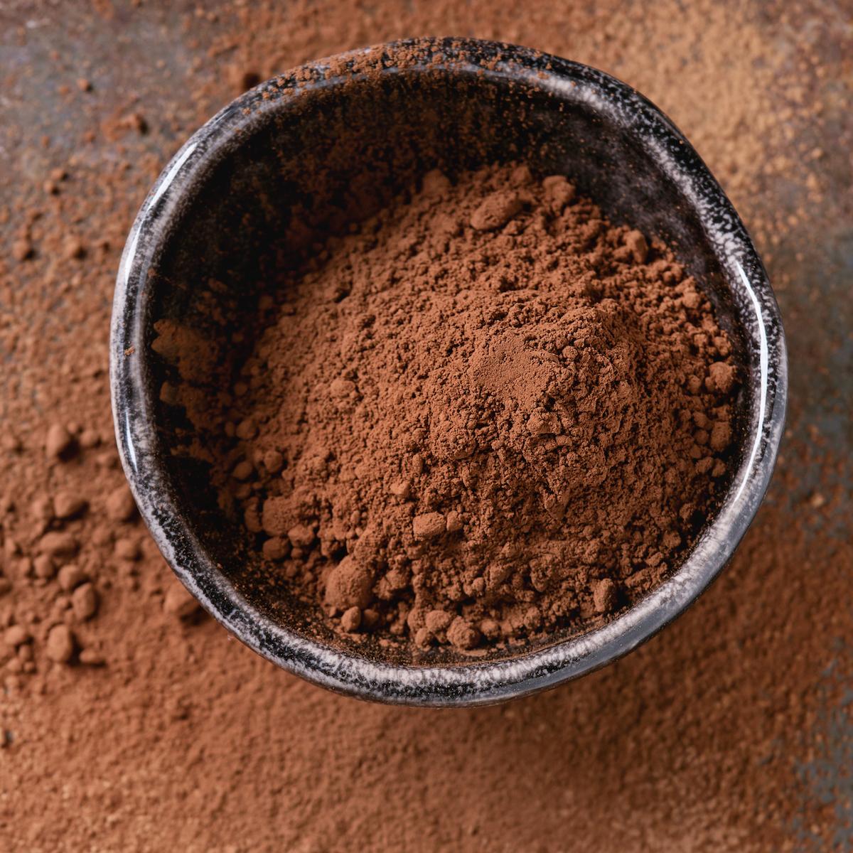 Chocolat en poudre ©De Natasha Breen shutterstock