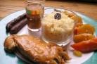 Couscous dans l'assiette