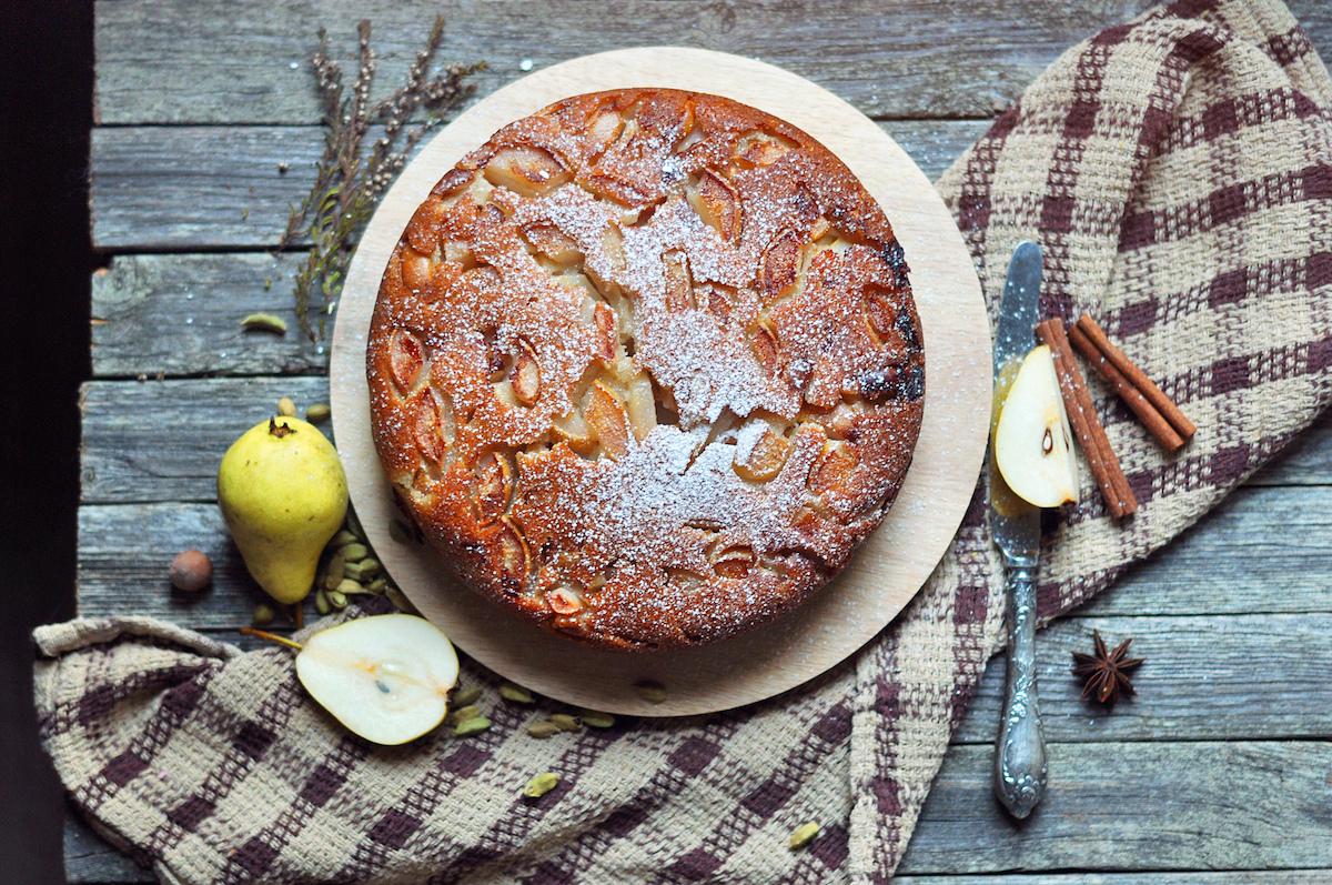 Gâteau aux poires sans oeufs ©De noncha shutterstock