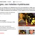 Les allergies, ces maladies mystérieuses