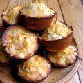 Muffins aux abricots et aux amandes