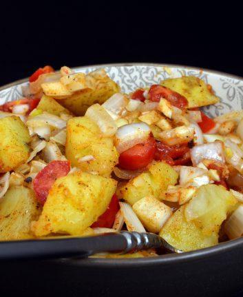 Salade de pommes de terre à l'orientale ©Michael W May Licence CC NY NC ND 2.0