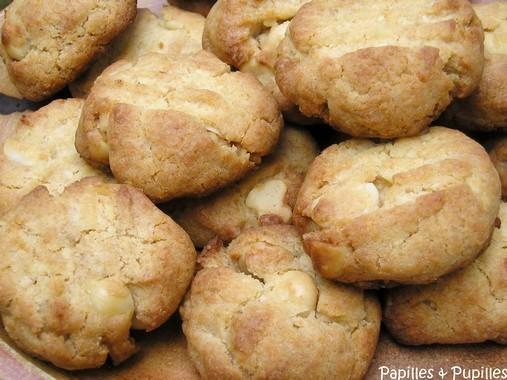Cookies au miel et aux noix de Macadamia