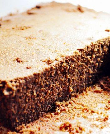 Gâteau au chocolat sans oeufs sans lait(c) Frédérique Voisin-Demery CC BY 2.0