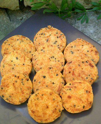 Biscuits à la farine torréfiée sans oeufs