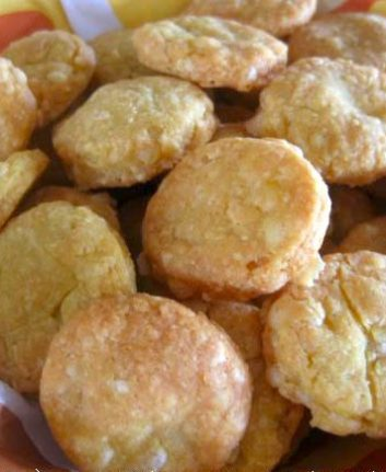 Biscuits salés curry