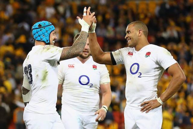 Equipe d'Angleterre de Rugby (c) FB ENgland Rugby