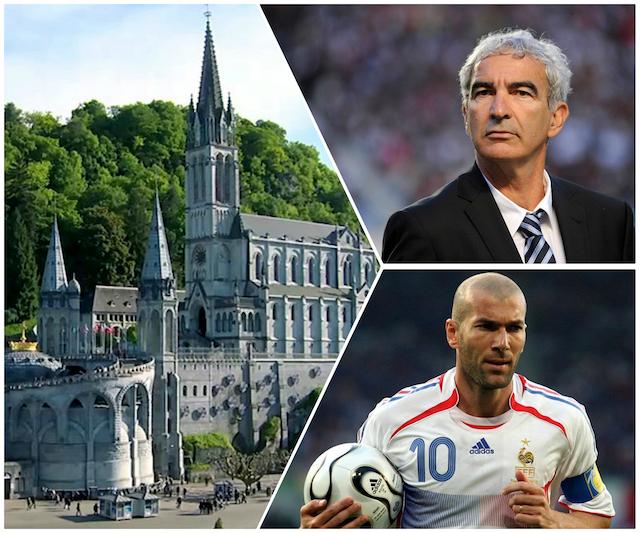 Lourdes - Domenech - Zidane