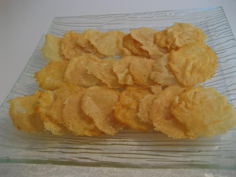 Tuiles au Parmesan sans oeufs