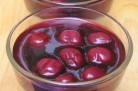 Verrines pistaches griottes