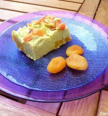 Clafoutis abricots pistache