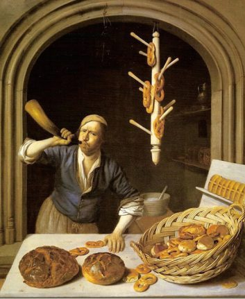 Job Berckheyde, The Baker